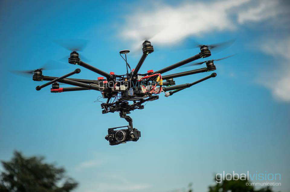 The arrival of our new drone S1000