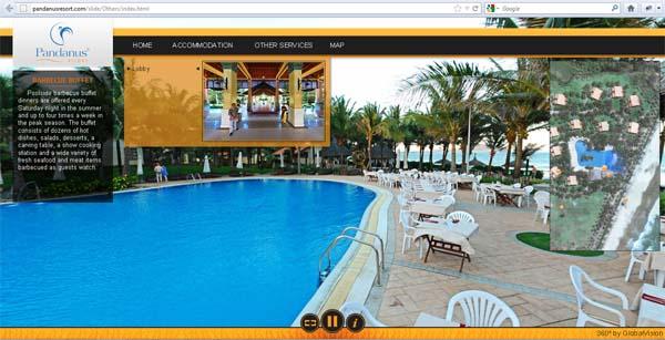 Visite virtuelle 360° pour Resort